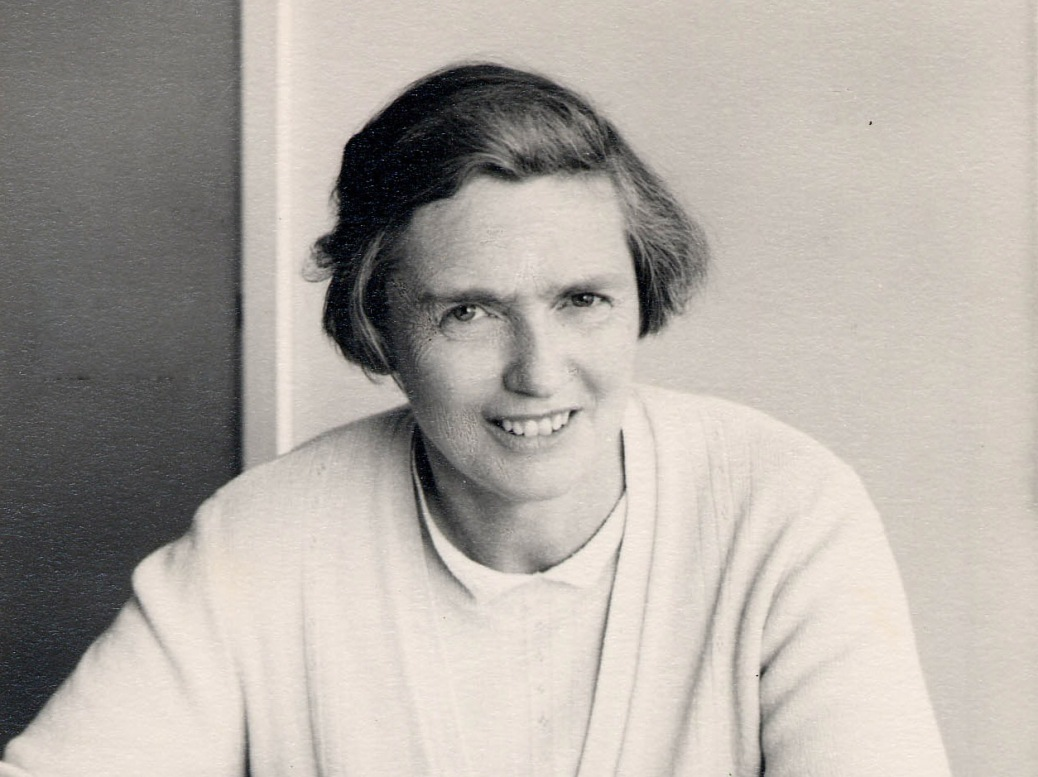 Portrait of housing officer Mary Tabor in her office