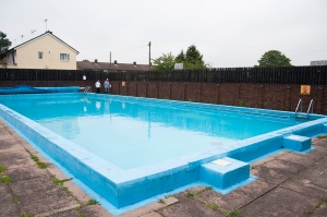 Swimming pool at Barnwell School