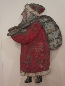 A carving by Mr MacDonald held at Stevenage Museum