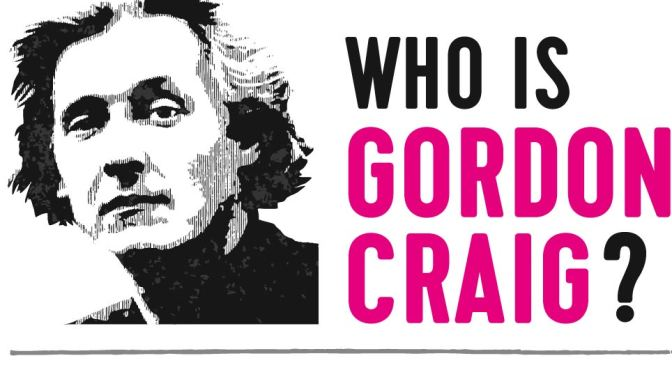 """Edward Gordon Craig – 50 Years On"" Event"