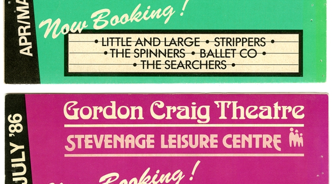 Collecting Stories From The Gordon Craig